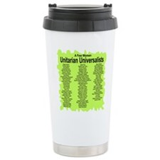 Funny Christian progressive Travel Mug