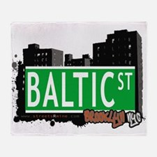 Baltic street, BROOKLYN, NYC Throw Blanket