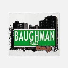 Baughman place, BROOKLYN, NYC Throw Blanket