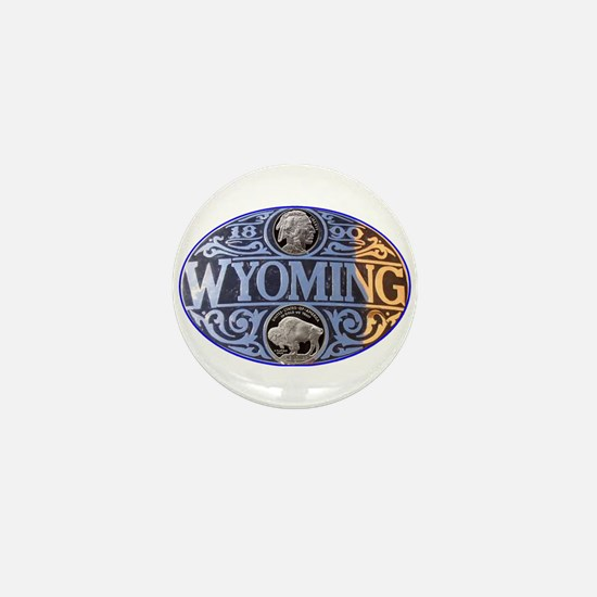 WYOMING Mini Button (100 pack)