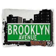 Brooklyn avenue, BROOKLYN, NYC Pillow Sham