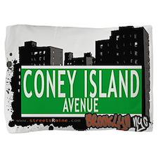 Coney Island avenue, BROOKLYN, NYC Pillow Sham