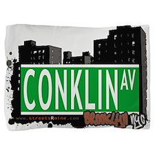 Conklin avenue, BROOKLYN, NYC Pillow Sham