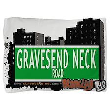 GRAVESEND NECK ROAD, BROOKLYN, NYC Pillow Sham