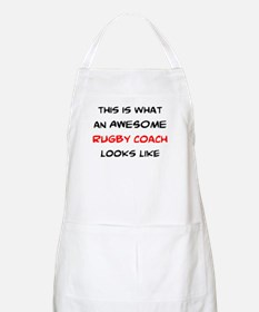 awesome rugby coach Apron