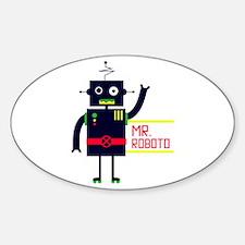 Mr Roboto Decal