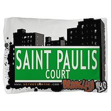 SAINT PAULIS COURT, BROOKLYN, NYC Pillow Sham