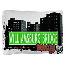 Williamsburg Bridge, BROOKLYN, NYC Pillow Sham