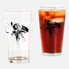 Cute La machine Drinking Glass