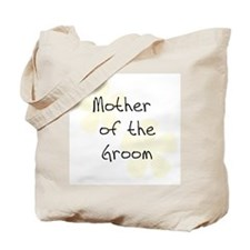 Mother of Groom Yellow Tote Bag