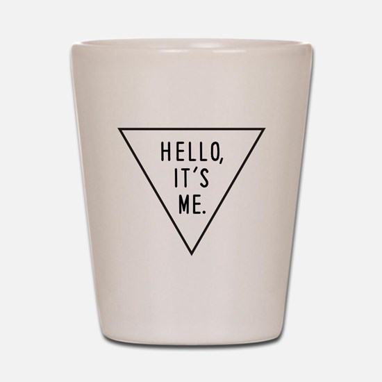 Cute Hello Shot Glass