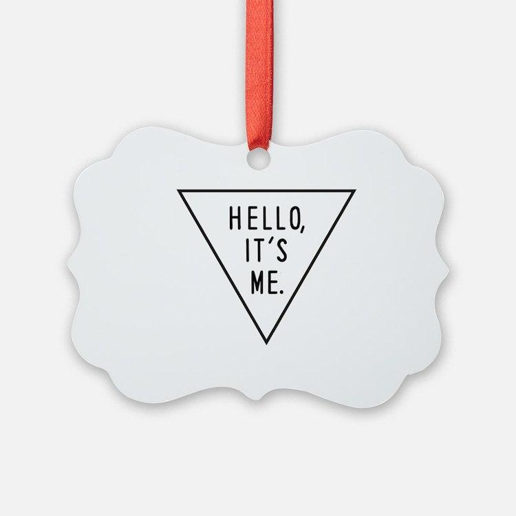 Cute Hello Ornament