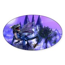 KEEPER OF THE CASTLE Oval Decal