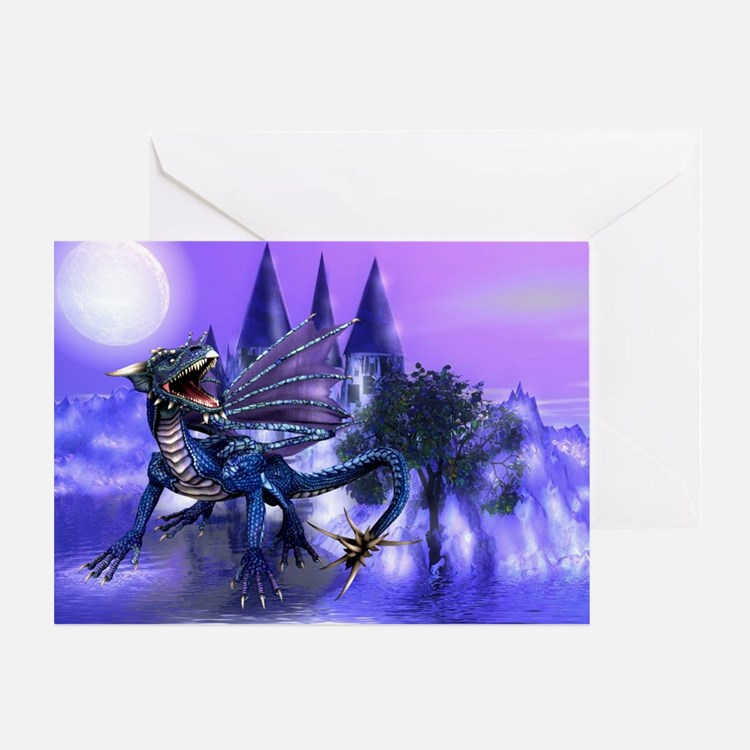 KEEPER OF THE CASTLE Greeting Card