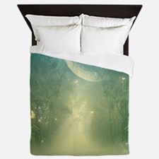 Mystical forest Queen Duvet