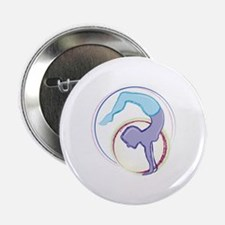"Handstand Lady 2.25"" Button (10 pack)"
