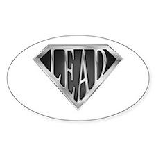 SuperLead(metal) Oval Decal