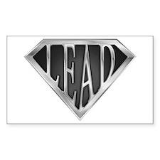 SuperLead(metal) Rectangle Decal