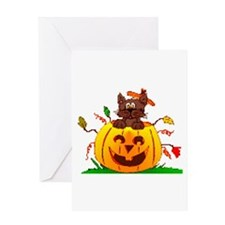 Pumpkin Surprise Greeting Card