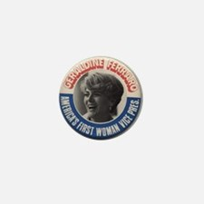 Cute Geraldine ferraro Mini Button
