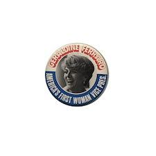 Cute Geraldine ferraro Mini Button (100 pack)