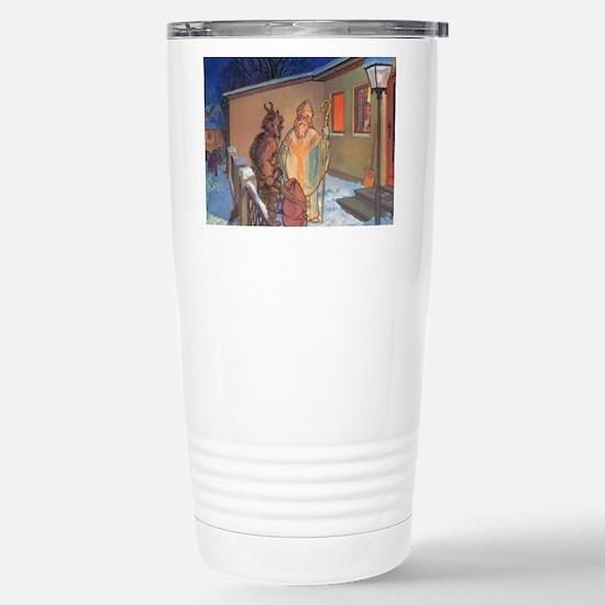 Krampus 021 Stainless Steel Travel Mug