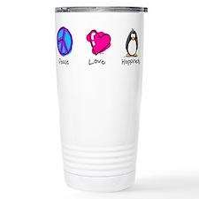 Cute Peace and love Travel Mug