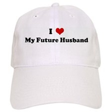 I Love My Future Husband Baseball Cap