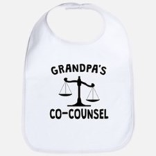 Grandpas Co-Counsel Bib