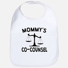 Mommys Co-Counsel Bib