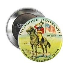 Roosevelt for President Button