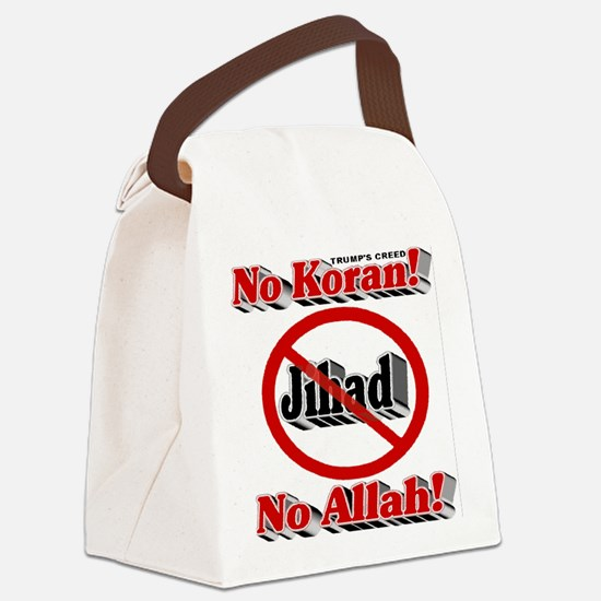 Trump's Creed Canvas Lunch Bag