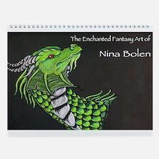 Funny Dragon Wall Calendar