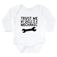 Trust Me My Uncle Is A Mechanic Body Suit