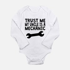 Trust Me My Uncle Is A Mechanic Body Suit