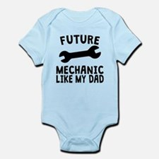Future Mechanic Like My Dad Body Suit
