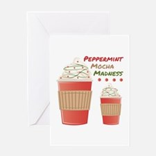 Peppermint Mocha Greeting Cards