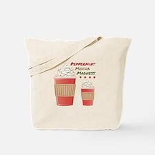 Peppermint Mocha Tote Bag