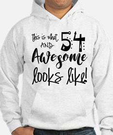 Awesome 54 Years Old Hoodie