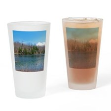 Lake View Scenery Drinking Glass