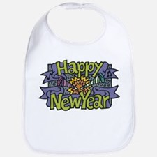 New Year's Party Bib