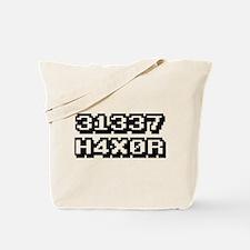 31337 H4X0R Tote Bag