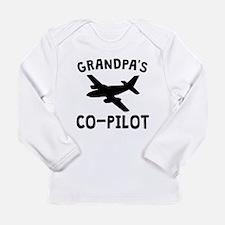 Grandpas Co-Pilot Long Sleeve T-Shirt