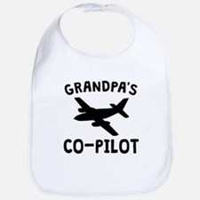 Grandpas Co-Pilot Bib
