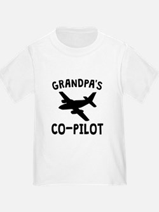 Grandpas Co-Pilot T-Shirt