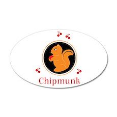CHIPMUNK Wall Decal