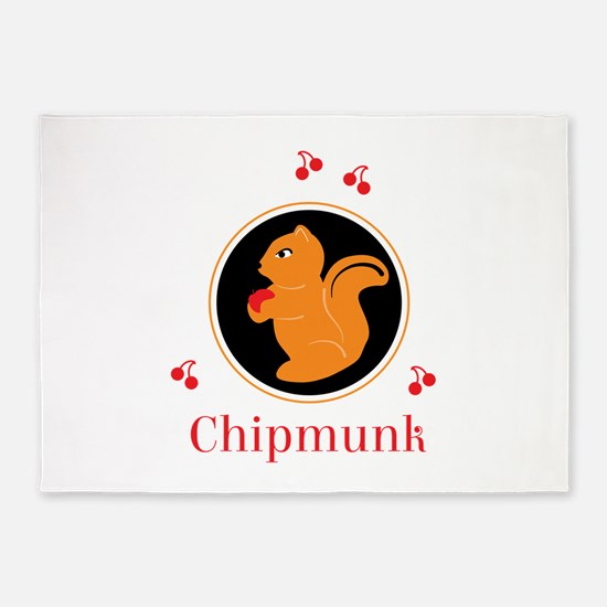 CHIPMUNK 5'x7'Area Rug