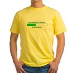 Millioniare loading... Yellow T-Shirt