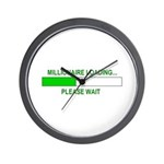Millioniare loading... Wall Clock