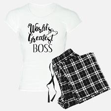 World's Greatest Boss Pajamas
